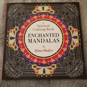 Coloring book mandalas spiritual relaxation adult
